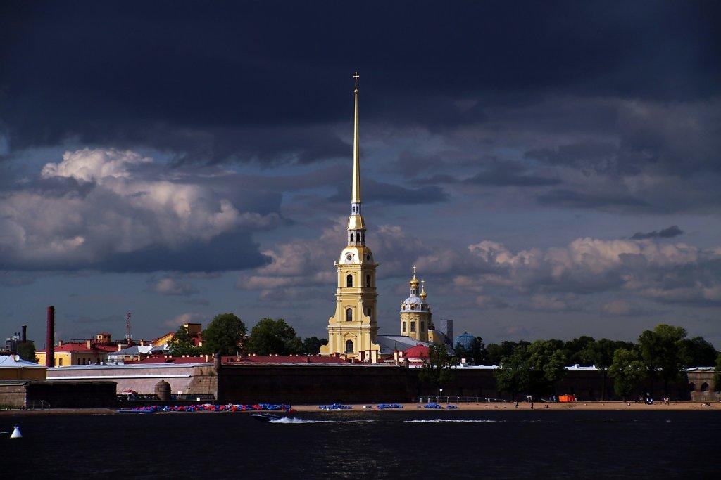 St. Petersburg Stormy skies