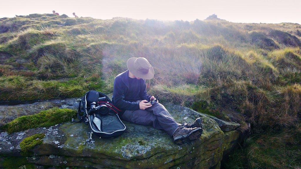 Drone Selfie in the Peak District