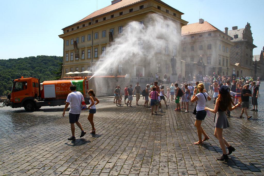 Prague cooling waters